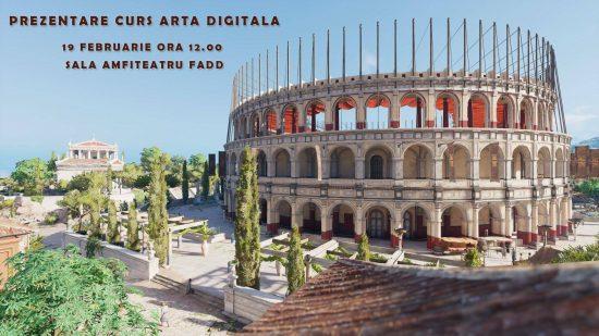CURS ARTA DIGITALA 3D
