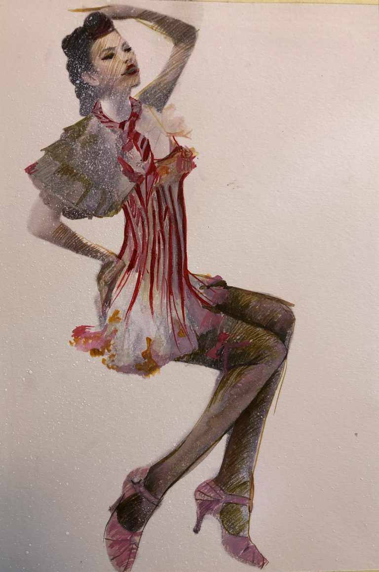 Schita-personaj Spectacolul Femeia Eterna Femeie